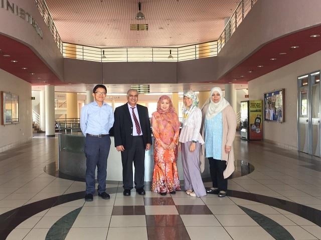 IHS hosts MRCGP International Exams in UBD, with International Development Advisor.