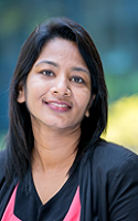 Programme Leader in Dentistry, Dr Sheba Rani Nakka David